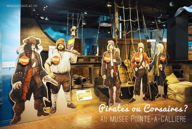 Pirates ou Corsaires au musée d'archéologie de Montreal