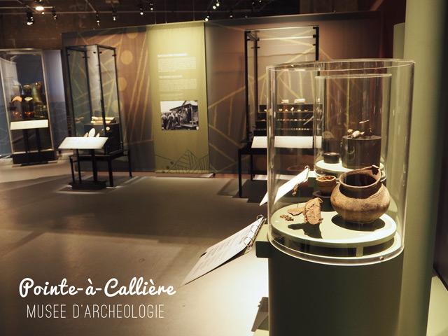 Musées de Montréal : Pointe à Callière, archéologie & histoire
