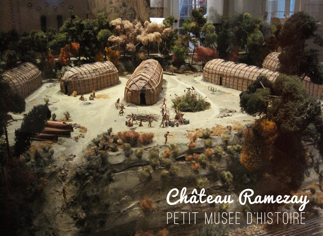 Musée sur l'histore du Québec à Montréal, le château ramezay