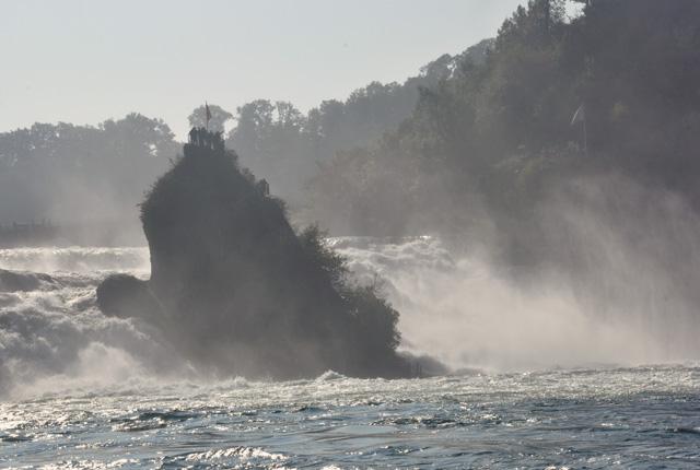 Chutes du Rhin - escapade en Suisse