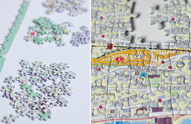 MyPuzzle: Puzzles suisses basés sur des cartes géographiques des villes