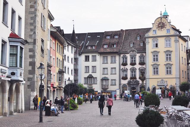 La ville historique de Schaffhausen