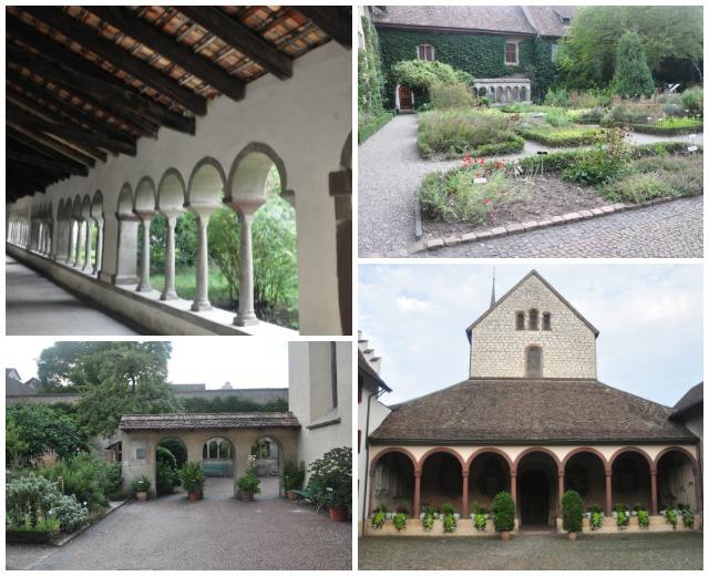 Cloître Schaffhouse Abbaye de tous les saints