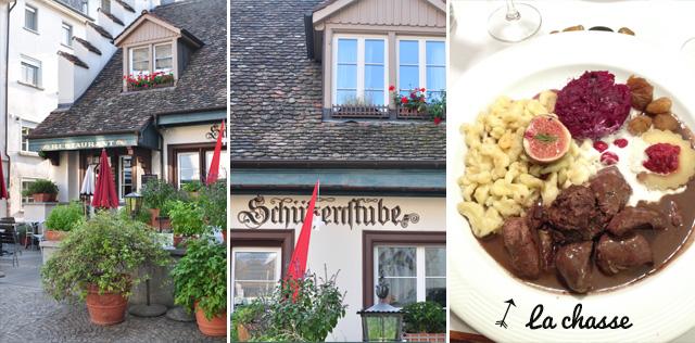 Bonne adresse de restaurant de spécialités suisses à Schaffhouse