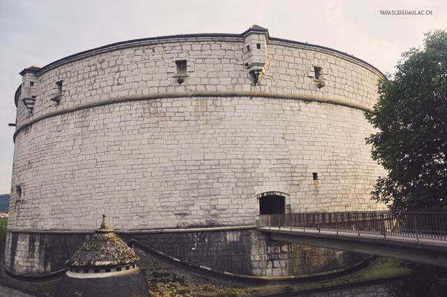 le fort munot à schaffhouse
