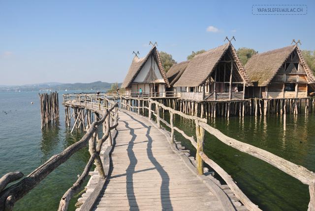 Unteruhldingen: village sur pilotis sur le lac de Constance