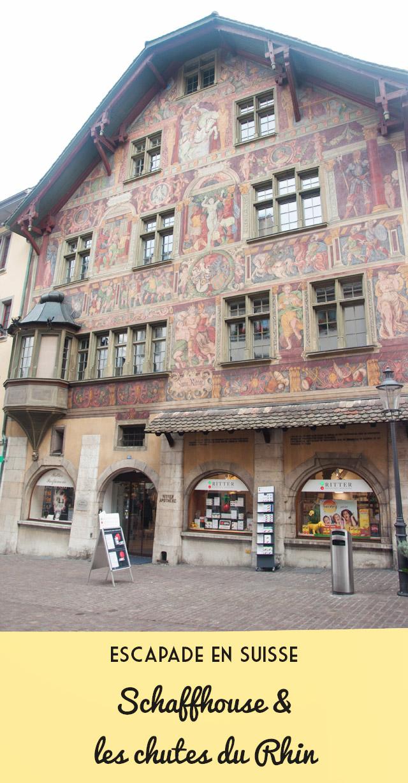 Voyage en suisse à Schaffhouse blog yapaslefeuaulac