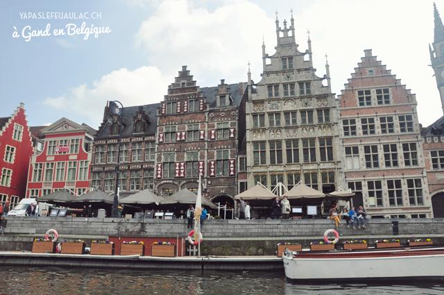 Balade à Gand ville flamande en Belgiquesur le blog voyage Yapaslefeuaulac
