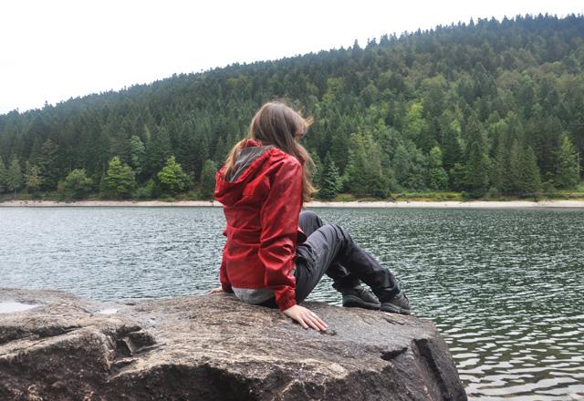 Balade dans les vosges Kantutita au lac des corbeaux