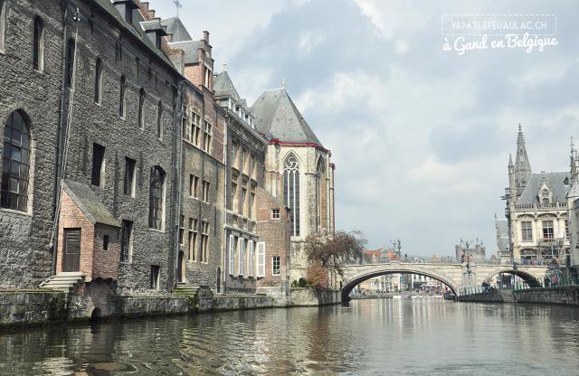 Gand - Ghent sur le blog voyage Yapaslefeuaulac