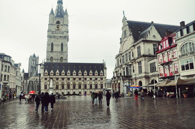 Le beffroi de Gand - Balade dans la ville de belgique - tourisme
