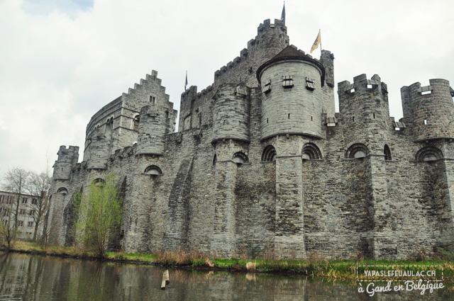 Le chateau des Comtes à Gand - chateau fort du Moyen age