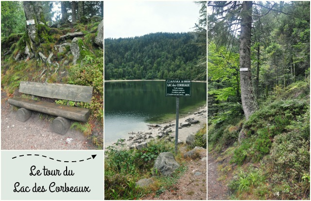 Le tour du lac des Corbeaux à la Bresse - Balade dans les Vosges