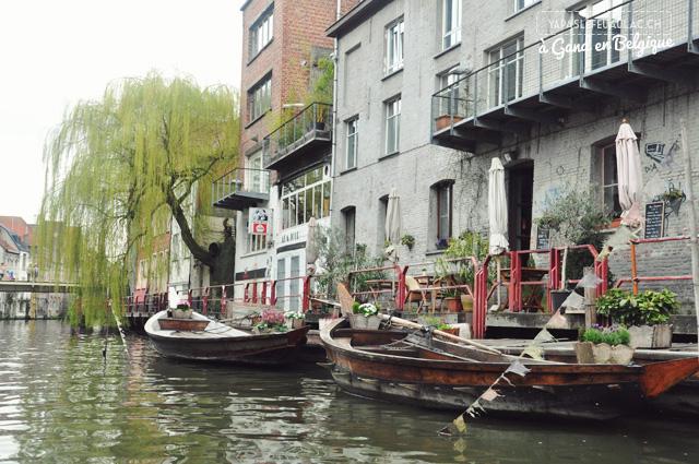Les canaux de Gand, une Venise du nord en Belgique