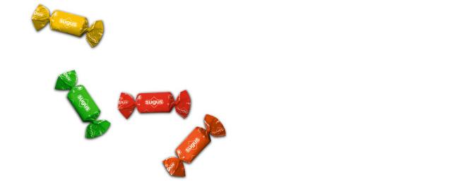 Les bonbons sugus - produits suisses cultes