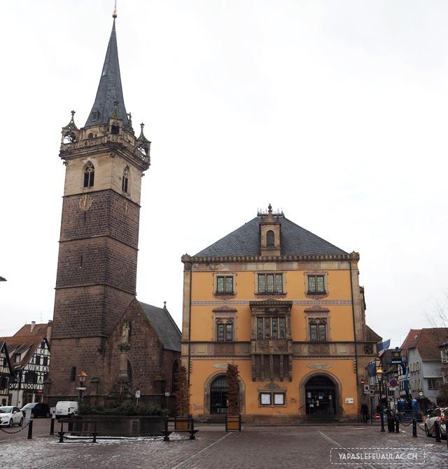 À Obernai, un village alsacien à visiter