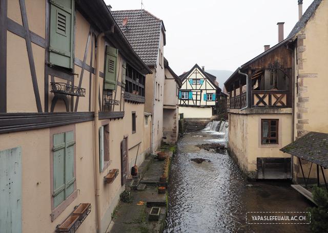 Villages alsaciens à visiter: la petite ville d'Andlau et ses colombages