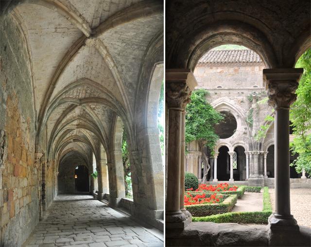 Cloitre de L'Abbaye de Fontfroide près de Narbonne