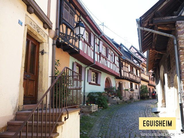 Les plus beaux villages d'Alsace - Eguisheim, un incontournable!