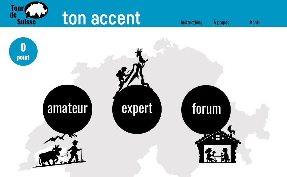 Quiz sur les accents suisses romands