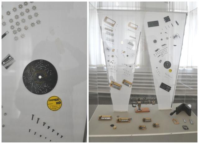 Les rouages des boites a musique montrees au musee de sainte croix en suisse