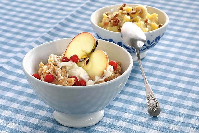 Inventions suisses: le birchermuesli!