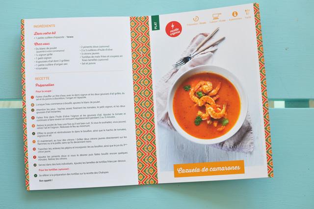 Recette de la box Kitchentrotter spécial Mexique {Test&avis sur ce kit de cuisine}