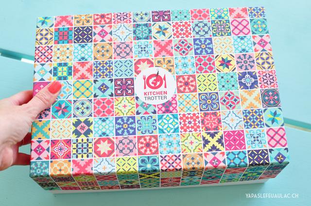Box Kitchentrotter: Déballage et avis sur le blog Yapaslefeuaulac