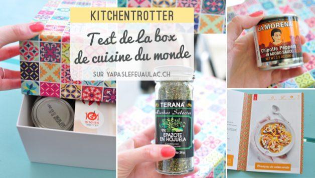 Avis du blog Yapaslefeuaulac sur la box de cuisine Kitchentrotter
