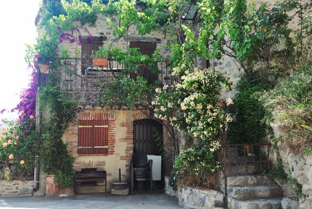 Eus, village perché des Pyrénées Orientales