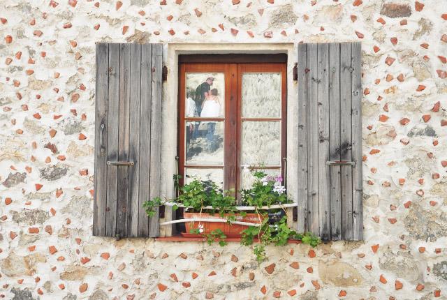 Dans les rues d'Eus, plus beau village de France des Pyrénées Orientales