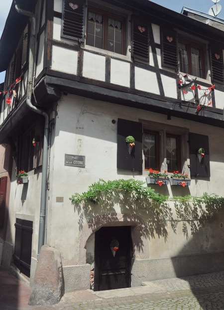 Maison à colombage à Saverne