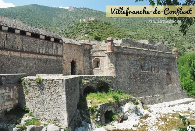 Villefranche-de-Conflent, une cité fortifiée historique du pays catalan français