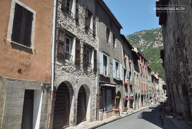 Pyrénées: La cité fortifiée de Villefranche de Conflent