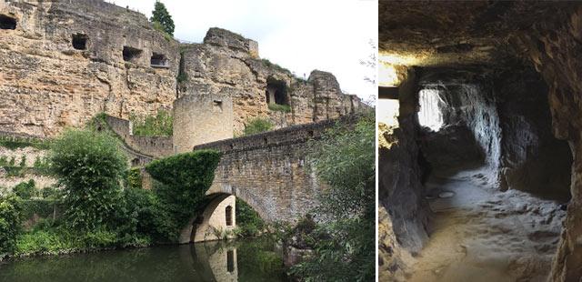 Les casemates du bock - Que voir dans la ville de Luxembourg?