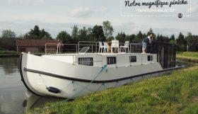 Escapade en bateau sur les canaux de France -