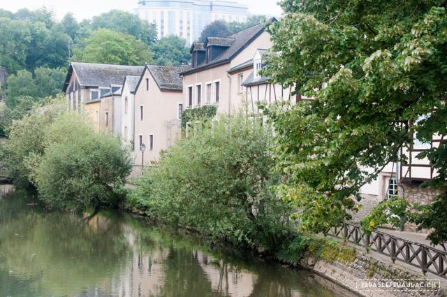 Le quartier du Grund - Que voir à Luxembourg en une journée