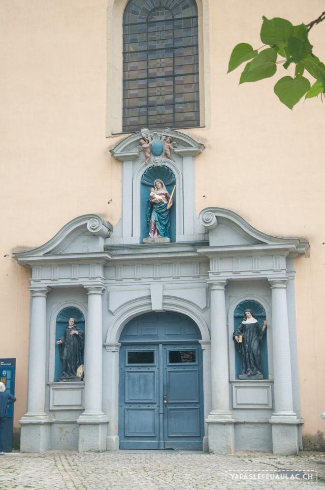 L'abbaye de Neumunster à Luxembourg city