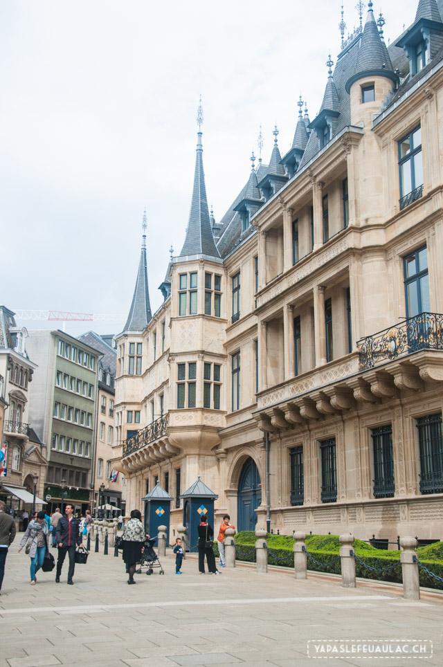 Palais Ducal - Luxembourg City - Que voir au Luxembourg? Nos coups de coeur