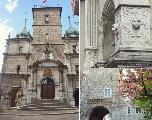 Dans les rues de Soleure - escapade suisse sur le blog!