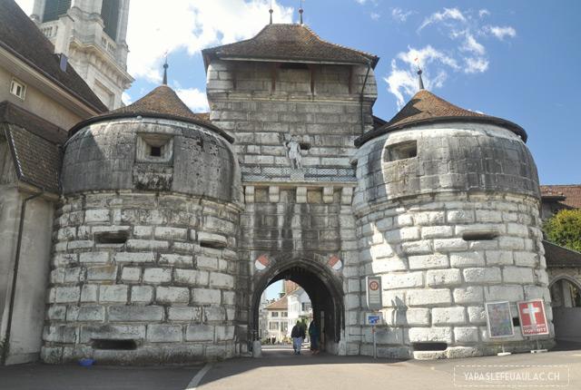 Baseltor - la porte de Bâle à Soleure