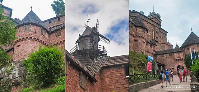 Visite du château du Haut-Königsbourg en Alsace sur le blog Yapaslefeuaulac.ch
