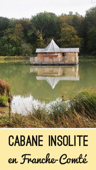Bonne adresse: hébergement insolite en Franche-Comté, les cabanes flottantes du Domaine des Grands Reflets!