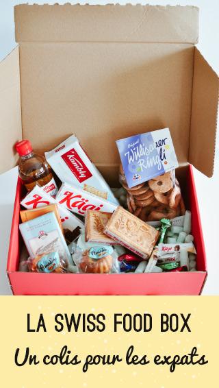 Déballage de la Swiss food box, le colis de produits suisses envoyé autour du monde!