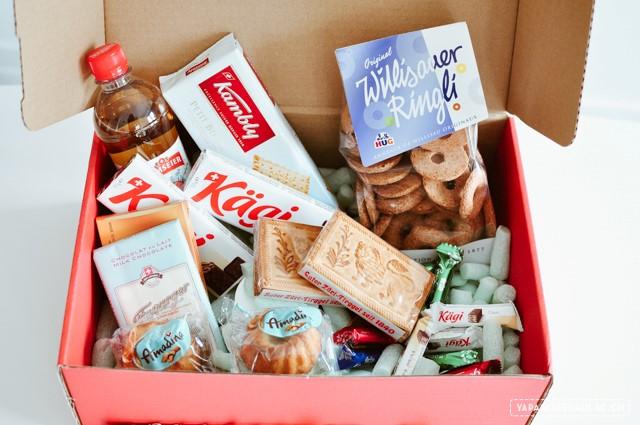 La Swiss food Box, un colis de produits helvétiques pour les expats suisses qui ont le mal du pays!