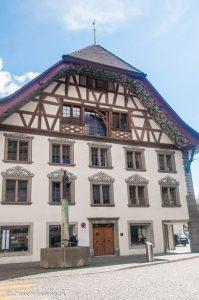 Balade au centre ville d'Aarau - Voyage dans les villes Suisses