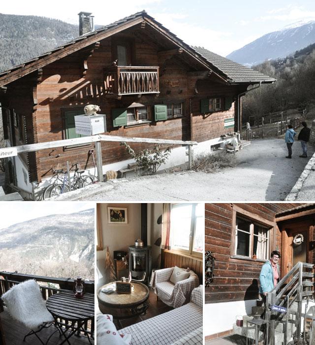Où dormir au Val d'Hérens? Une adresse de chambre d'hôtes chez Patricia