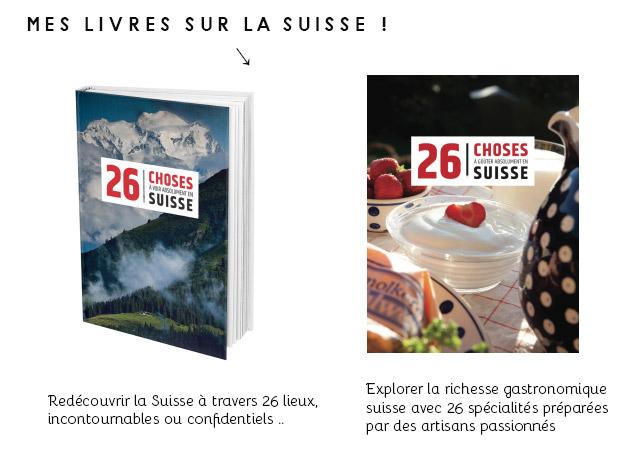 Mes livres sur la Suisse: des idées de cadeaux suisses !