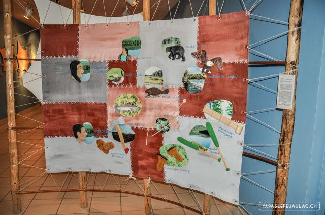 Découvrir la culture amérindienne au Québec: un centre culturel autochtone au bord du lac St Jean