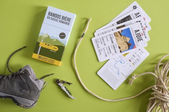 Des fiches de randonnées en Suisse